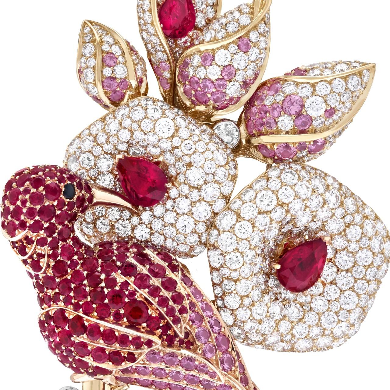 Van Cleef & Arpels' Treasure of Rubies taps into 3,000 carats of