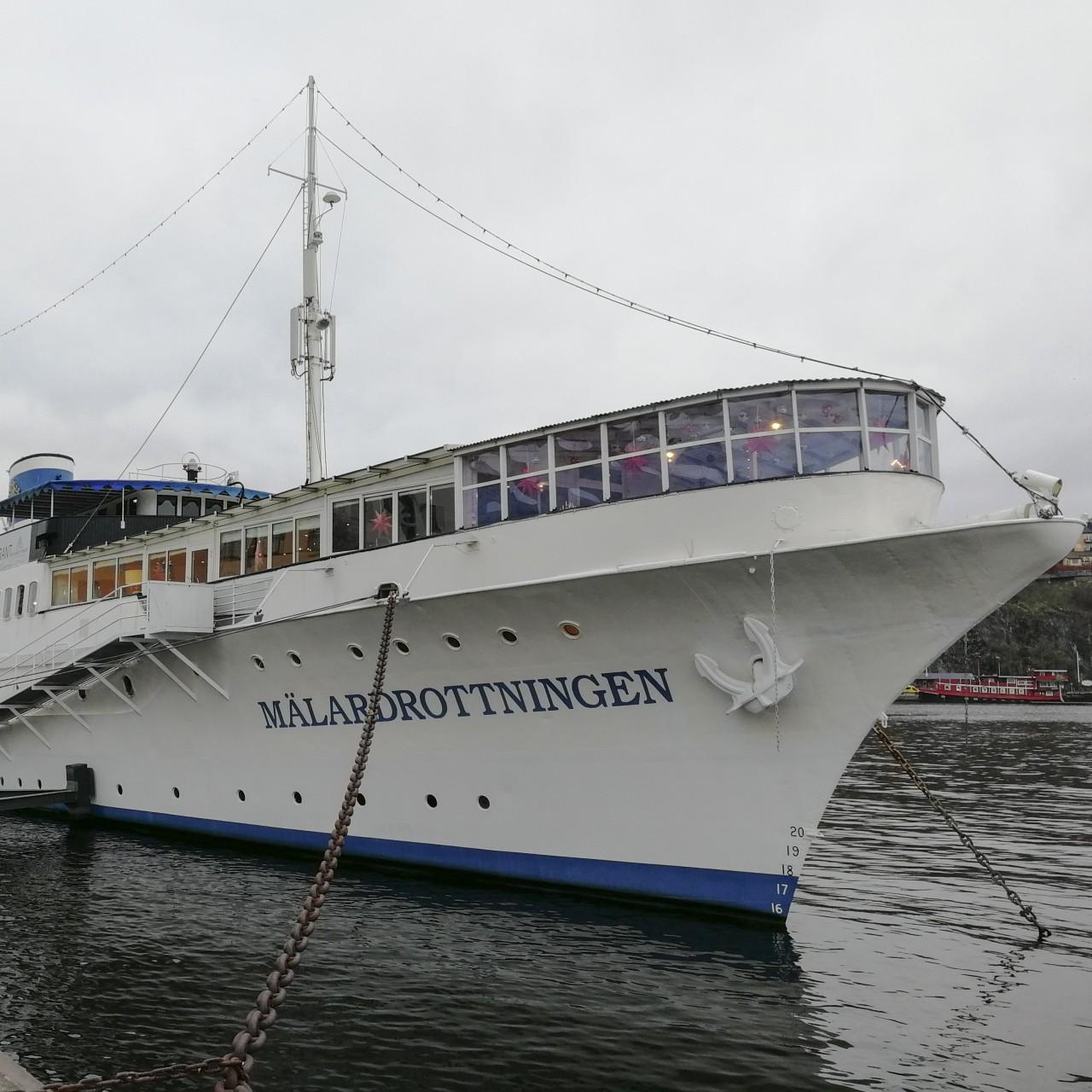 Mälardrottningen: the Stockholm yacht hotel once owned by American
