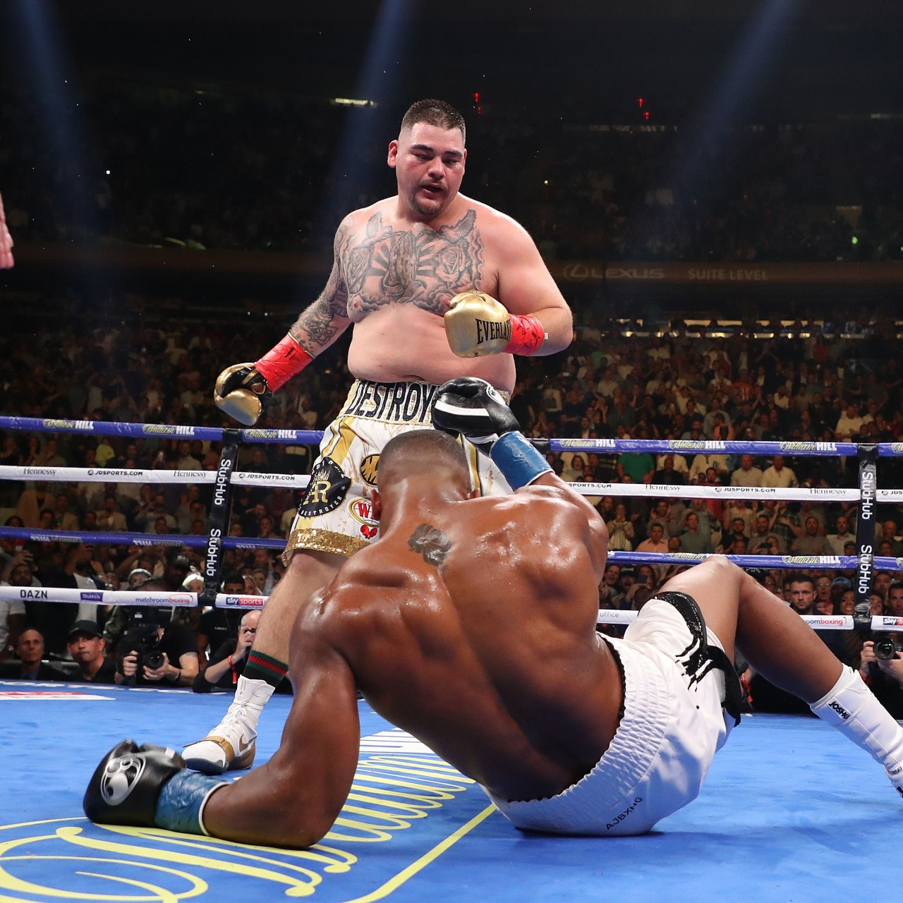 Andy Ruiz destroys Anthony Joshua to win heavyweight titles at