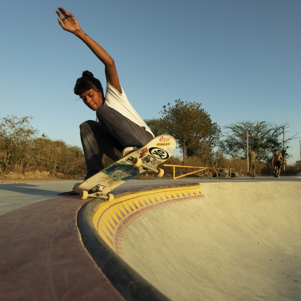 India's female skateboarders look to break with tradition, empower