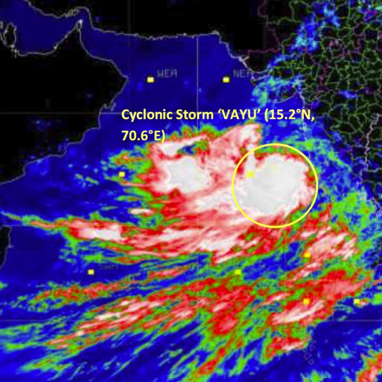 India braces for Cyclone Vayu with 300,000 people evacuated