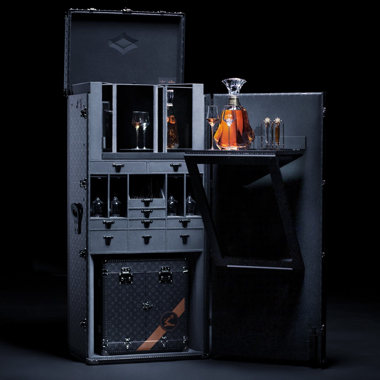 Louis Vuitton and Hennessy create the ultimate cognac trunk