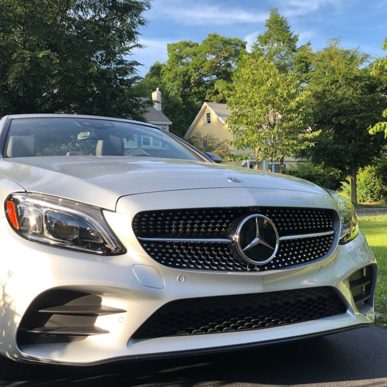 We review the Mercedes-Benz C 300 convertible: is it as good