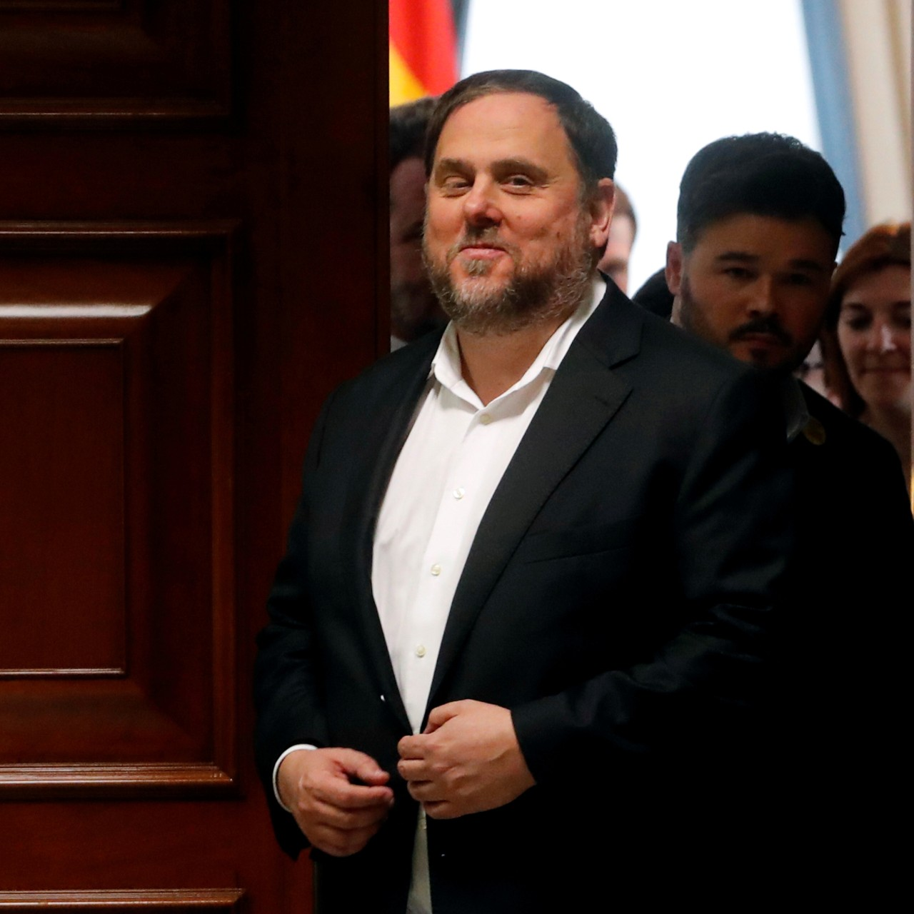 Spanish court stops jailed Catalan separatist Oriol Junqueras from