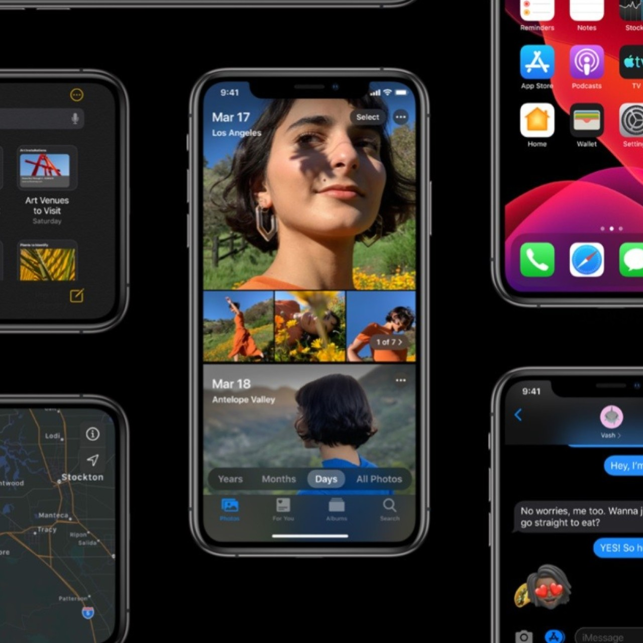 iOS 13 best new features: dark mode, swipe, maps, photos and