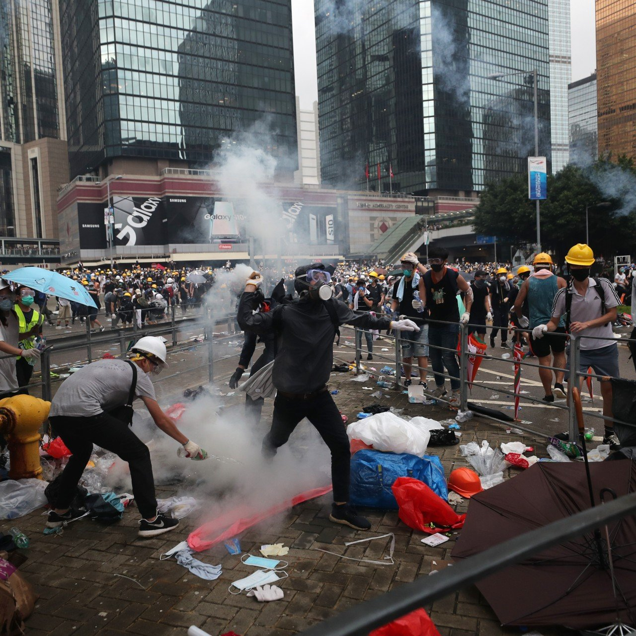 The Siege of Wan Chai': How a WTO protest descended into a