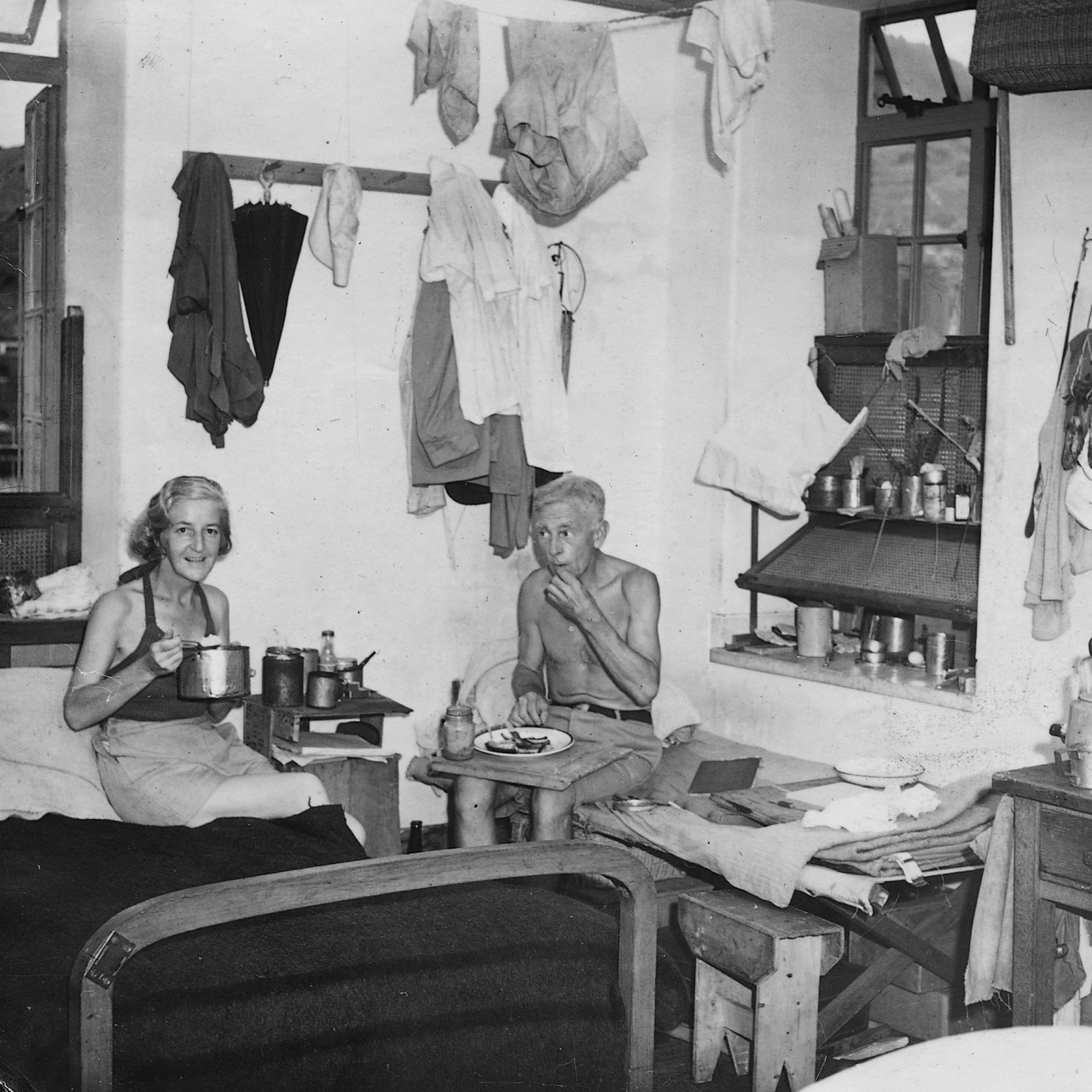 How Hong Kong POW Barbara Anslow killed time in Stanley