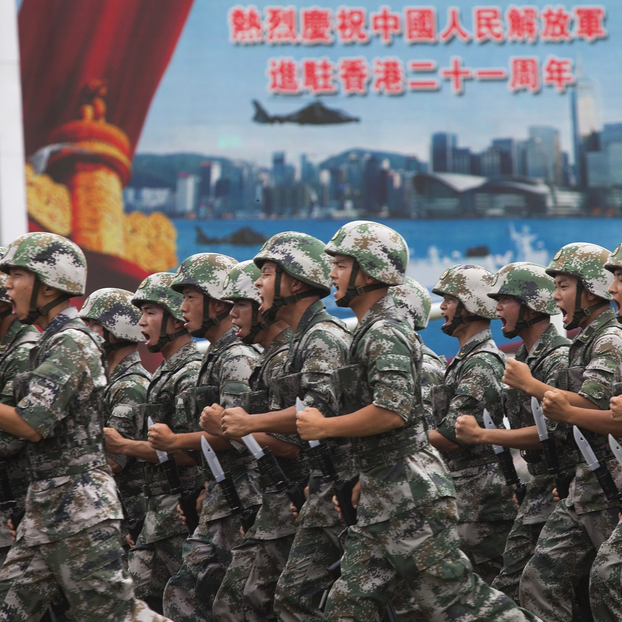 Chinese military can be deployed at Hong Kong's request to