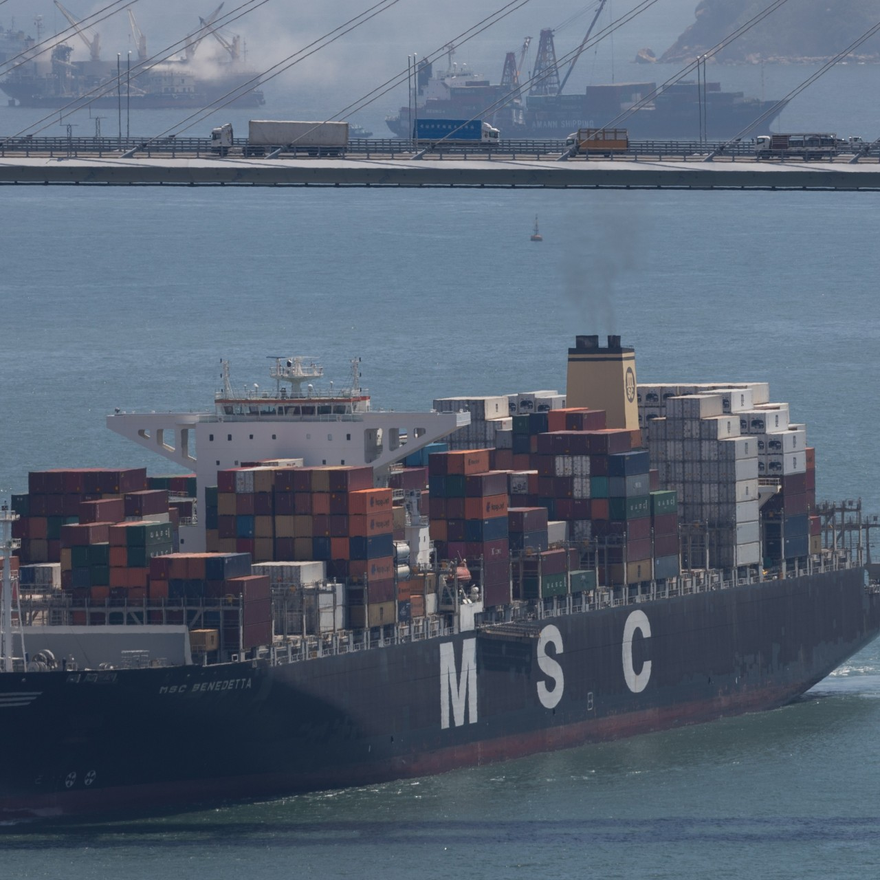 Honouring the biggest ship ever built, and Hong Kong's role in