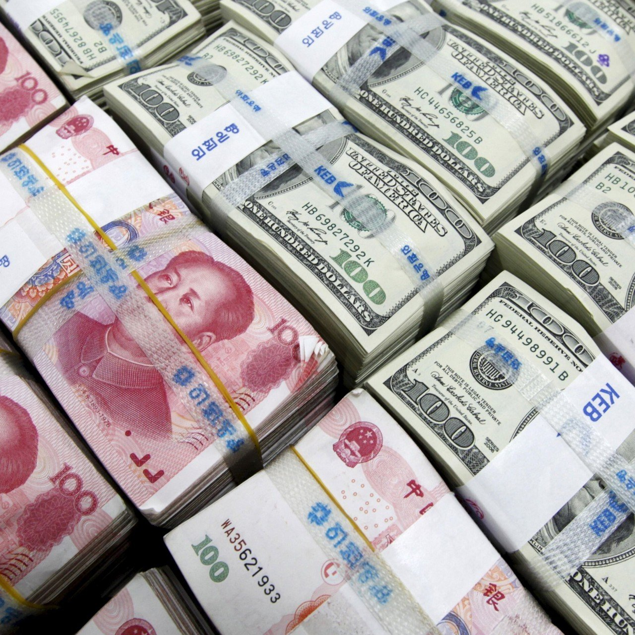 Yuan strengthens to one-week high after China's central bank