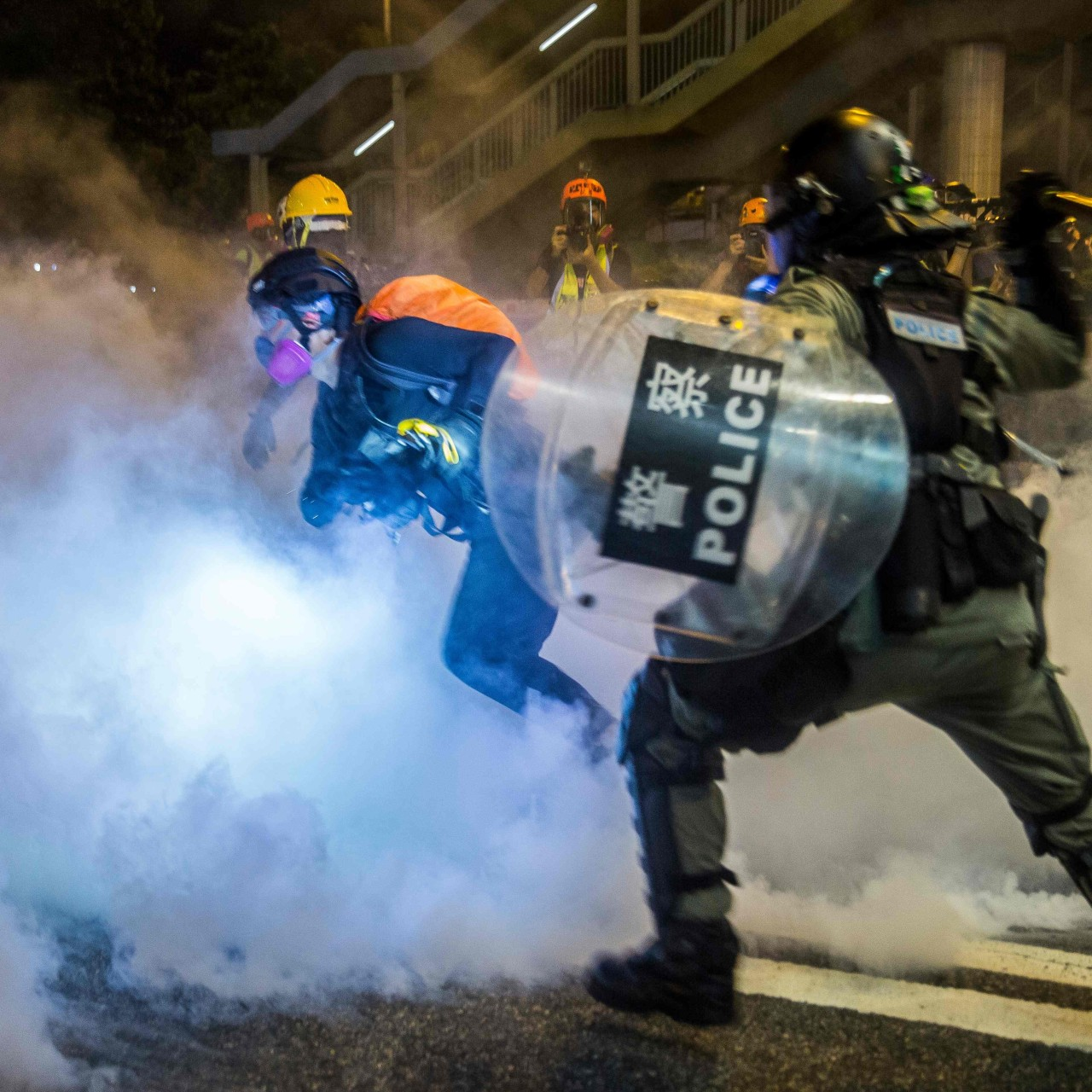 Chief Executive Carrie Lam's reframing of battle with protesters as