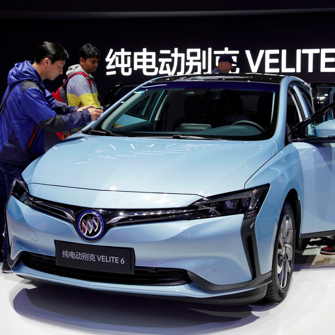 China's electric car market is growing twice as fast as the