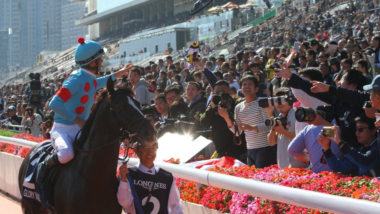 Glory Vase returns to scale after winning the 2019 Hong Kong Vase.