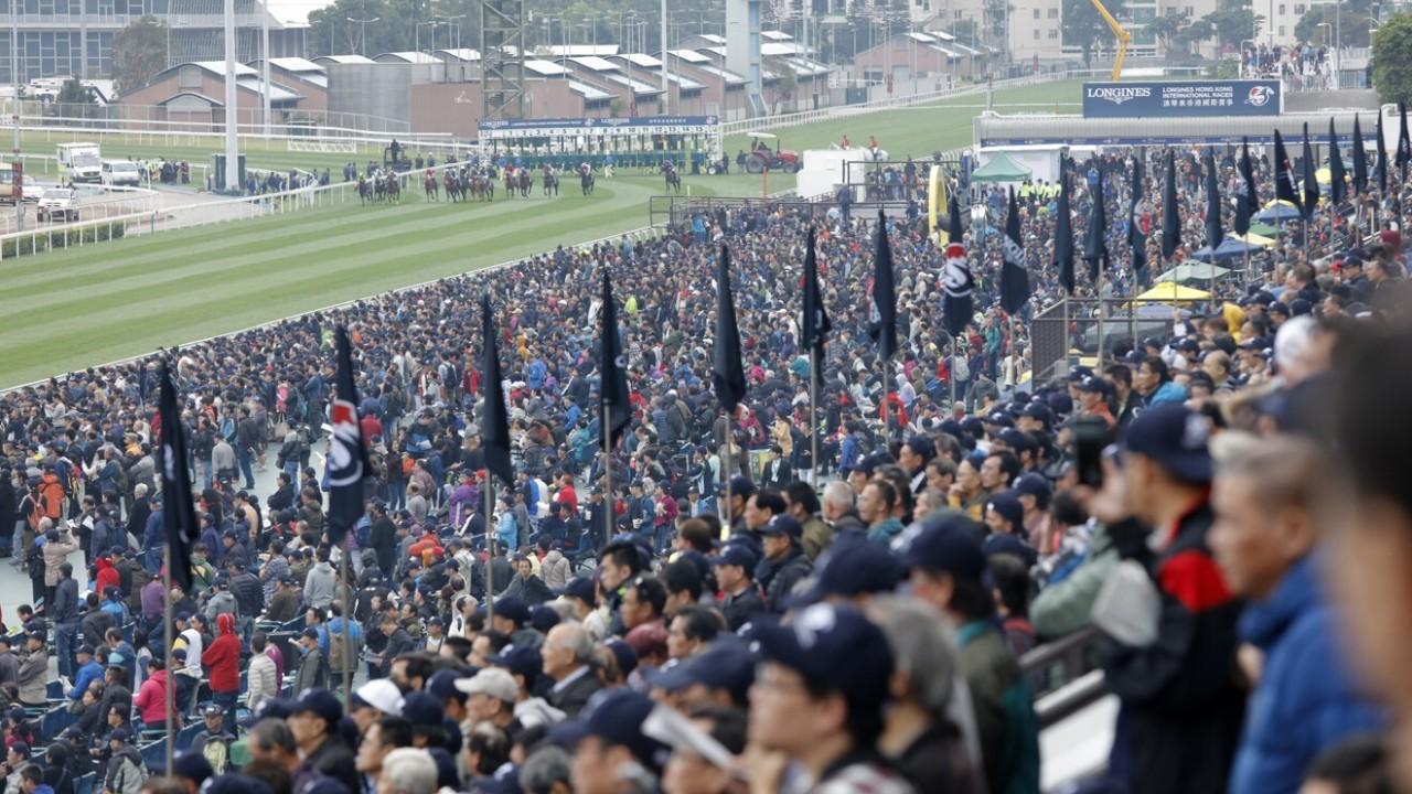 Race 4, Hong Kong Vase (Group 1, 2400m) at Sha Tin Racecourse. 09DEC18