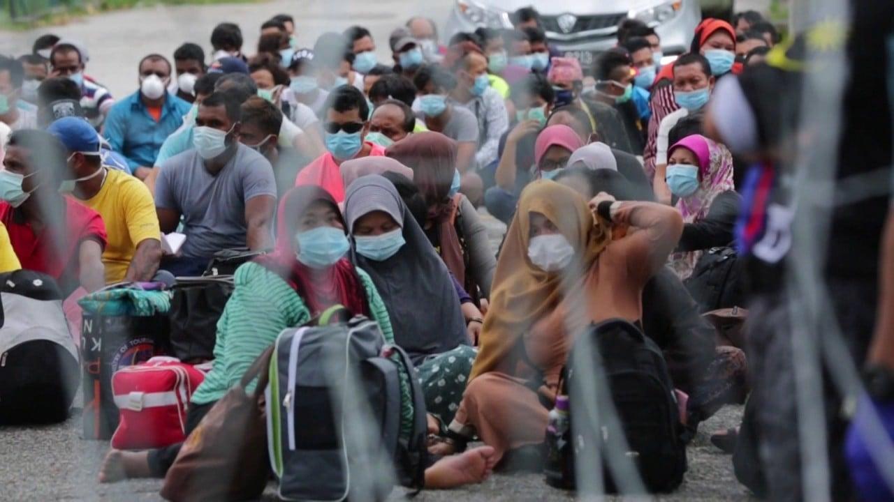 Coronavirus: Malaysia arrests hundreds of undocumented migrants 'to curb Covid-19'