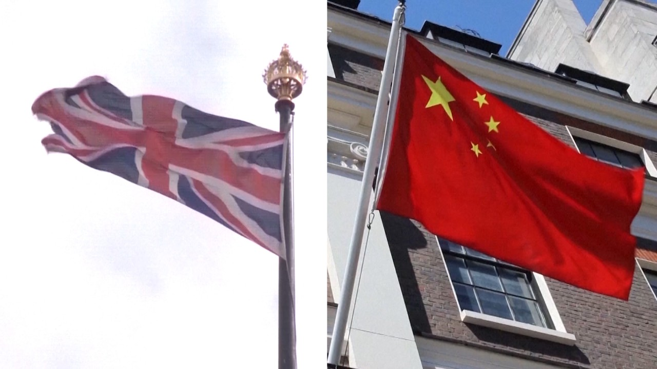 China says UK has 'poisoned' Sino-British relationship over Hong Kong and Huawei