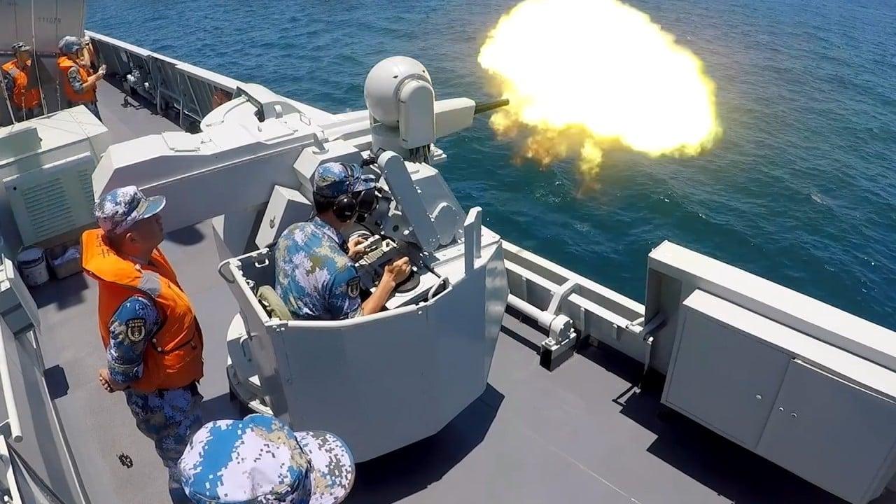 Hong Kong-based warship joins drill in South China Sea