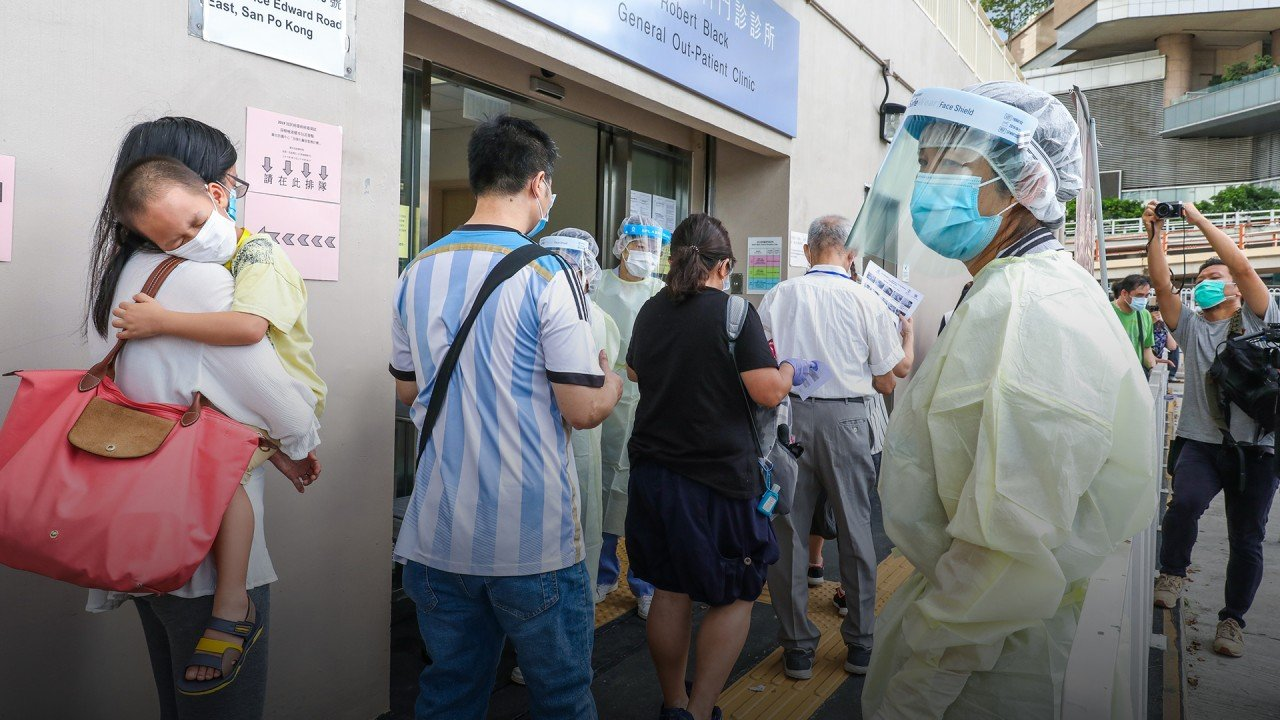 Hong Kong's mass Covid-19 testing to begin on September 1, to last at least 7 days