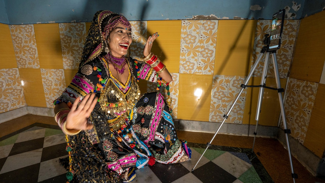 India's Kalbelia tribe takes its traditional dance online amid Covid-19 pandemic