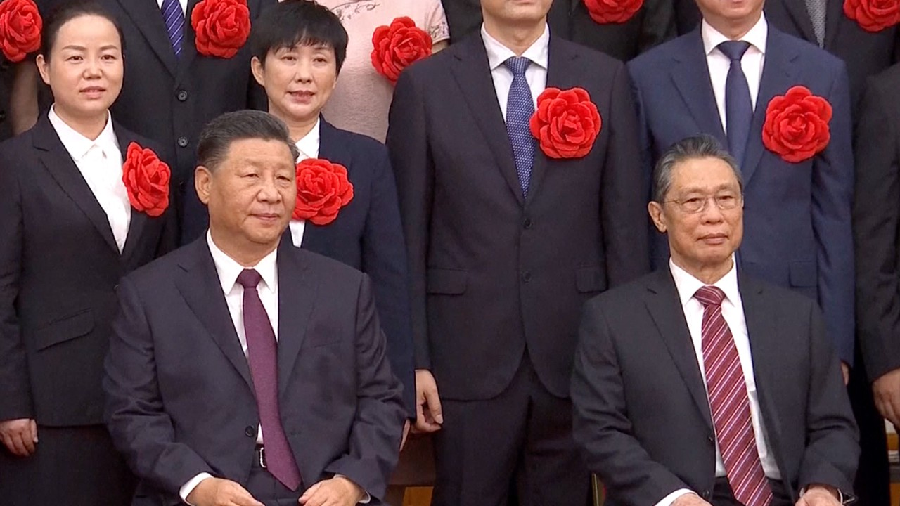 Experts who helped China fight Covid-19 receive top honours from President Xi Jinping