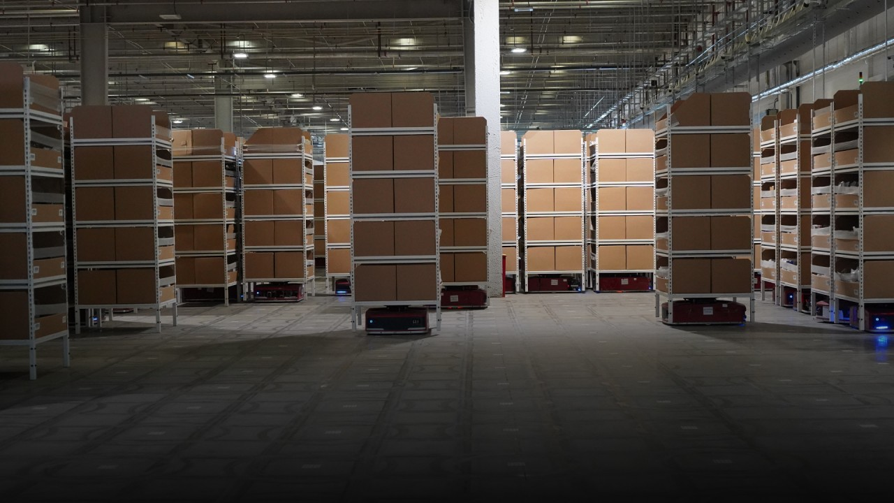 Intelligent sorting systems help China's JD.com cope with demand during Covid-19 pandemic