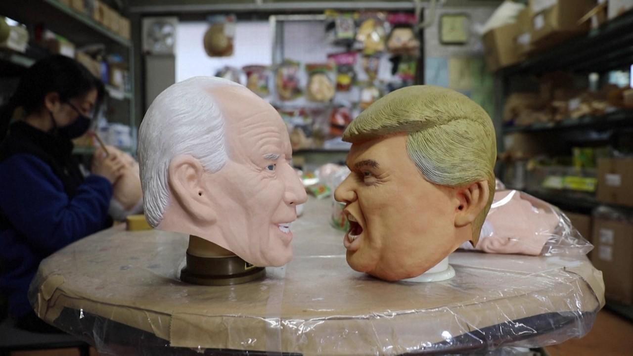 Smooth transition: Japanese rubber mask maker dumps Trump for Biden