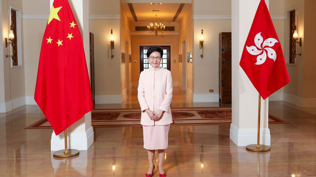 Hong Kong leader Carrie Lam still believes she did right thing in trying to pass extradition bill