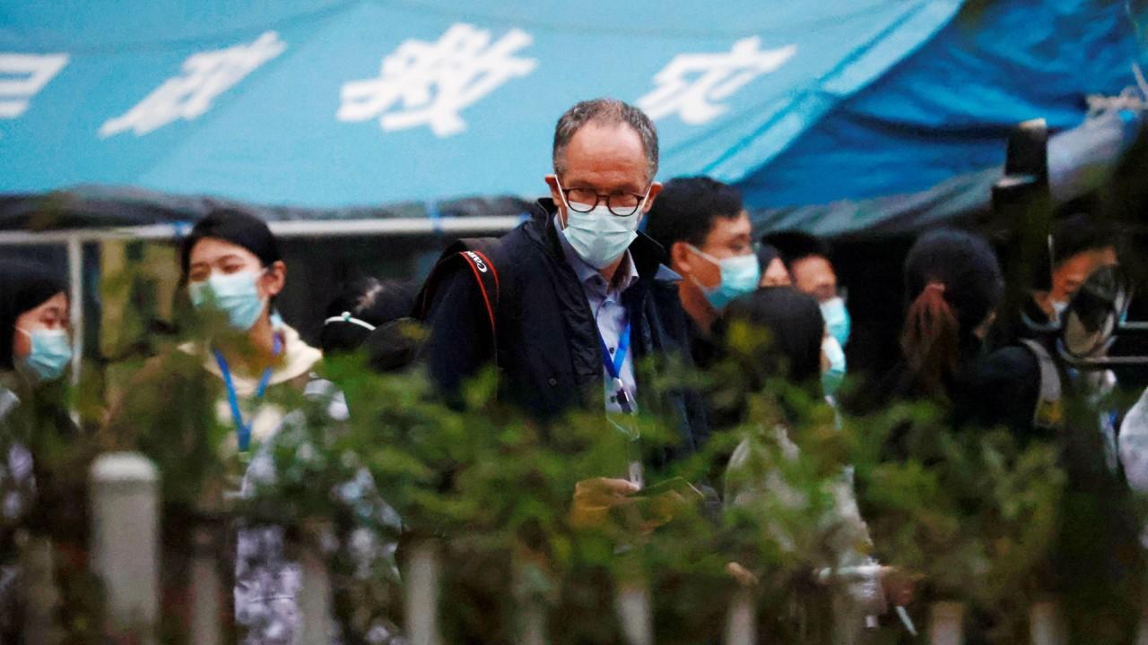 Coronavirus: WHO team visits Wuhan hospital as it probes origins of Covid-19 pandemic