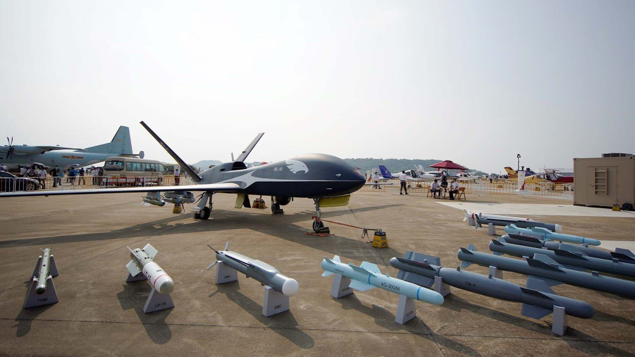 Chinese drones among new military aircraft highlighted at Zhuhai Airshow